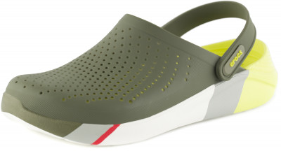 Шлепанцы Crocs LiteRide Colorblock, размер 44-45