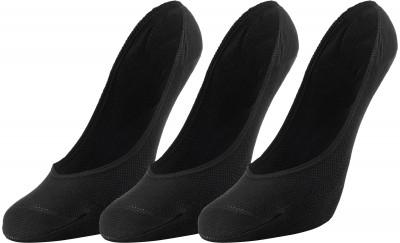 Носки женские Skechers, 3 парыЯркие удобные носки из микрофибры для занятий спортом и повседневной носки. Модель обеспечивает удобную посадку и обладает воздухопроницаемостью. В комплекте 3 пары.<br>Пол: Женский; Возраст: Взрослые; Вид спорта: Спортивный стиль; Плоские швы: Да; Дополнительная вентиляция: Да; Материалы: 97 % нейлон, 3 % спандекс; Производитель: Skechers; Артикул производителя: S101584; Страна производства: Китай; Размер RU: 35-39;