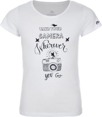 Футболка для девочек Outventure, размер 164Футболки и майки<br>Практичная футболка для девочек от outventure пригодится в путешествии. Натуральные материалы ткань, выполненная из натурального хлопка, обеспечивает комфорт и воздухообмен.