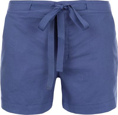Шорты женские Outventure, размер 46Шорты<br>Удобные женские шорты от outventure предназначены для летних путешествий и прогулок. Натуральные материалы в составе ткани преобладает лен.