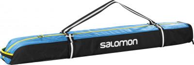 Чехол для горных лыж Salomon Extend 1P 130+25 смПрактичный чехол для горных лыж, выполненный из стопроцентного полиэстера. Чехол снабжен двумя удобными ручками и надежной двойной молнией.<br>Состав: 100 % полиэстер; Вид спорта: Горные лыжи; Производитель: Salomon; Артикул производителя: L38260000; Срок гарантии: 2 года; Страна производства: Вьетнам; Размер RU: Без размера;