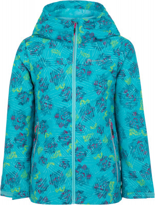 Ветровка для девочек Outventure, размер 146Куртки <br>Удобная и яркая ветровка от outventure - отличный выбор для активного отдыха на природе.