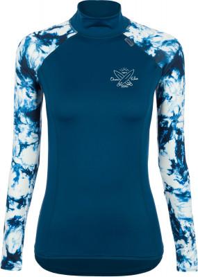 Рашгард с длинным рукавом женский Termit, размер 50Surf Style <br>Яркая футболка с длинным рукавом от termit - идеальный выбор для серфинга. Свобода движений продуманный крой с рукавами реглан позволяет двигаться максимально свободно.