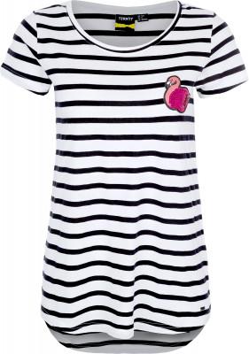 Футболка женская Termit, размер 46Skate Style<br>Удобная и легкая футболка от termit для ярких событий и летних приключений. Свобода движений прямой крой позволяет двигаться свободно и естественно.
