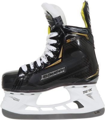 Bauer BTH18 SUPREME S29 (детские)Ледовые коньки<br>Хоккейные коньки от bauer линии supreme. Модель рассчитана на юниоров.