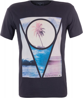 Футболка мужская Quiksilver SectionsМужская футболка quiksilver станет идеальным вариантом для активного отдыха на пляже. Свобода движений благодаря удобному продуманному крою модель не стесняет движений.<br>Пол: Мужской; Возраст: Взрослые; Вид спорта: Surf style; Материалы: 100 % хлопок; Производитель: Quiksilver; Артикул производителя: EQYZT04443; Страна производства: Индия; Размер RU: 52-54;