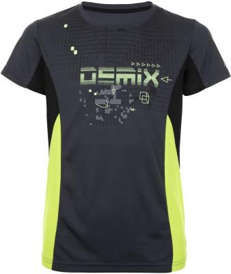 Футболка для мальчиков Demix, размер 140Футболки и майки<br>Практичная детская футболка для тренировок от demix. Отведение влаги технология movi-tex служит для эффективного отвода влаги от тела.
