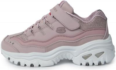 Кроссовки для девочек Skechers Energy Best Pals, размер 33
