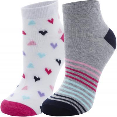 Носки для девочек Demix, 2 пары, размер 34-36