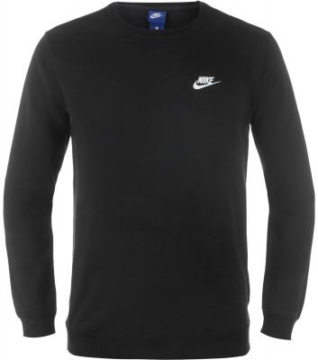 Джемпер мужской Nike SportswearКлассический джемпер в спортивном стиле от nike завершит ваш образ. Натуральные материалы в составе ткани преобладает натуральный хлопок.<br>Пол: Мужской; Возраст: Взрослые; Вид спорта: Спортивный стиль; Покрой: Прямой; Капюшон: Отсутствует; Застежка: Отсутствует; Производитель: Nike; Артикул производителя: 804342-010; Страна производства: Камбоджа; Материал верха: 80 % хлопок, 20 % полиэстер; Размер RU: 44-46;