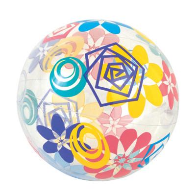 Надувной мяч BestwayНадувной пляжный мяч из полупрозрачного винила. Отличный аксессуар для активного отдыха всей семьей.<br>Материалы: 100 % поливинилхлорид; Размеры (дл х шир х выс), см: 51 x 51; Вид спорта: Кемпинг; Производитель: Bestway; Артикул производителя: BW31036; Срок гарантии: 6 месяцев; Страна производства: Китай; Размер RU: Без размера;