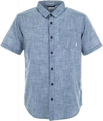 Рубашка мужская Columbia Under Exposure YD, размер 44-46Рубашки<br>Рубашка columbia с коротким рукавом - отличный выбор для поездок и путешествий. Натуральные материалы модель выполнена из легкого воздухопроницаемого хлопка.