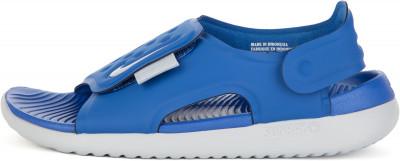 Сандалии для мальчиков Nike Sunray Adjust 5, размер 34Сандалии <br>Сандалии nike sunray adjust 5 выручают в жаркую погоду. Легкость гибкий пеноматериал гасит ударные нагрузки.