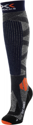 Носки X-Socks Ski Rider 4.0, 1 пара, размер 42-44