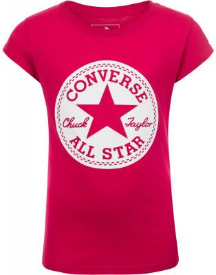Футболка для девочек Converse, размер 152  (468565A8LR)