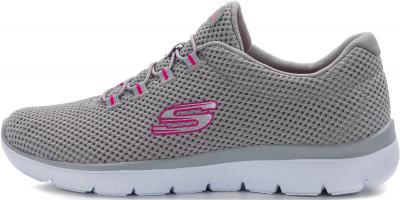 Кроссовки женские Skechers Summits-Quick Lapse, размер 38,5Кроссовки <br>Для максимального комфорта во время фитнес-тренировок - удобные и гибкие кроссовки skechers summits.