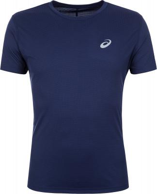 Футболка мужская ASICS Silver, размер 46-48Мужская одежда<br>Футболка с коротким рукавом от asics незаменима для пробежек. Отведение влаги технологичный материал хорошо отводит влагу от тела и быстро высыхает.