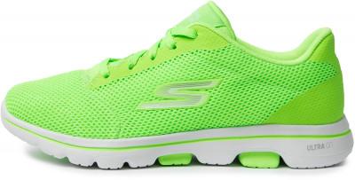 Кроссовки женские Skechers Go Walk 5 Lucky, размер 35