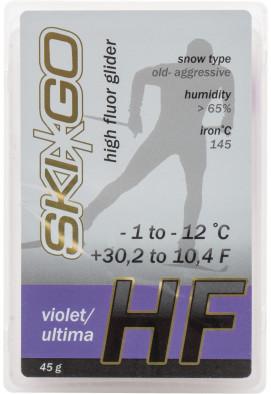 Мазь скольжения Ski Go HF, -1°C/-12°C