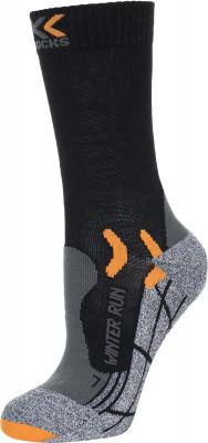 Носки X-Socks Winter Run, 1 параНоски winter run от x-socks - это отличный выбор для занятий бегом в холодную погоду.<br>Пол: Мужской; Возраст: Взрослые; Вид спорта: Бег; Плоские швы: Да; Светоотражающие элементы: Нет; Дополнительная вентиляция: Да; Компрессионный эффект: Да; Производитель: X-Socks; Артикул производителя: X020243; Страна производства: Италия; Материалы: 48 % полиамид, 26 % полипропилен, 13 % шерсть, 9 % полиэстер, 2 % эластан, 2 % металлизированный полиамид; Размер RU: 45-47;