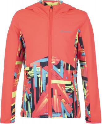 Джемпер для девочек Demix, размер 110Джемперы<br>Удобный и яркий джемпер для девочек от demix станет отличным выбором для фитнес-тренировок в прохладную погоду.