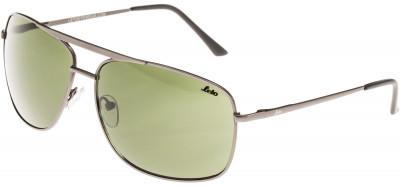 Солнцезащитные очки мужские LetoЛегкие и удобные солнцезащитные очки с полимерными линзами в металлической оправе.<br>Цвет линз: Зеленый; Назначение: Городской стиль; Пол: Мужской; Возраст: Взрослые; Ультрафиолетовый фильтр: Да; Материал линз: Полимерные линзы; Оправа: Пластик; Производитель: Leto; Артикул производителя: 701639B; Срок гарантии: 1 месяц; Страна производства: Китай; Размер RU: Без размера;