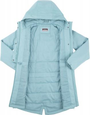 Фото 6 - Куртку утепленная для девочек Kappa, размер 152 синего цвета