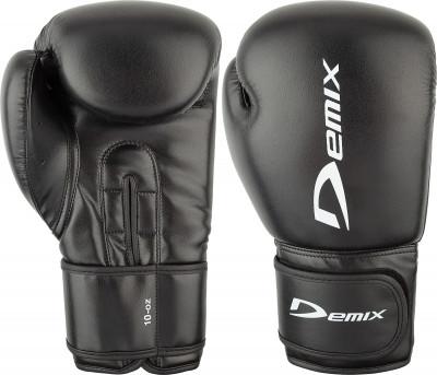 Перчатки боксерские DemixБокс рские перчатки из высокопрочной искусственной кожи.<br>Вес, кг: 10 oz; Тип фиксации: Липучка; Материал верха: Искусственная кожа; Материал наполнителя: Пенополиуретан; Вид спорта: Бокс; Производитель: Demix; Артикул производителя: DCS-201B10; Срок гарантии: 3 месяца; Страна производства: Пакистан; Размер RU: 10 oz;