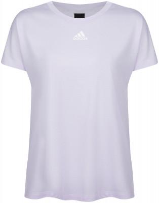 Футболка женская adidas Pleated, размер 50-52