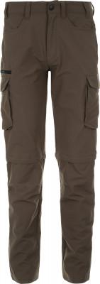 Брюки мужские Outventure, размер 50Брюки <br>Удобные брюки-трансформеры от outventure - отличный выбор для летних походов.