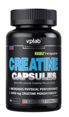 Креатин Vplab nutrition, 90 капсул