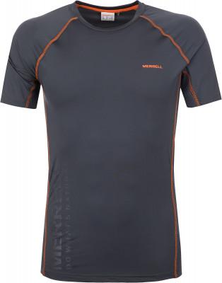 Футболка мужская Merrell, размер 52Футболки<br>Мужская футболка от merrell - отличный выбор для походов и активного отдыха на природе. Дополнительная вентиляция сетчатые вставки под мышками улучшают циркуляцию воздуха.