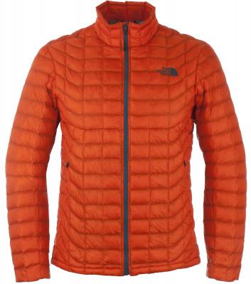 Куртка утепленная мужская The North Face ThermoballThe north face thermoball теплая всесезонная куртка для походов и активного отдыха на природе.<br>Пол: Мужской; Возраст: Взрослые; Вид спорта: Походы; Вес утеплителя: 102 г/м2; Температурный режим: До -5; Покрой: Прямой; Длина куртки: Короткая; Капюшон: Отсутствует; Количество карманов: 2; Технологии: Thermoball; Производитель: The North Face; Артикул производителя: T0CMH0-BTT; Страна производства: Вьетнам; Материал верха: 100% нейлон; Материал подкладки: 100% нейлон; Материал утеплителя: 100% синтепон; Размер RU: 50;