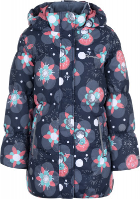 Куртка утепленная для девочек OutventureТеплая детская куртка от outventure - превосходный выбор для путешествий и долгих прогулок.<br>Пол: Женский; Сезон: Зима; Возраст: Малыши; Вид спорта: Путешествие; Вес утеплителя на м2: 200 г/м2; Наличие мембраны: Да; Наличие чехла: Нет; Возможность упаковки в карман: Нет; Регулируемые манжеты: Нет; Водонепроницаемость: 3000 мм; Паропроницаемость: 3000 г/м2/24 ч; Защита от ветра: Да; Покрой: Приталенный; Светоотражающие элементы: Нет; Дополнительная вентиляция: Нет; Проклеенные швы: Нет; Длина куртки: Длинная; Наличие карманов: Да; Капюшон: Не отстегивается; Количество карманов: 2; Артикулируемые локти: Нет; Застежка: Молния; Технологии: ADD DRY, ADD PROTECT; Производитель: Outventure; Артикул производителя: UJAG11M210; Страна производства: Китай; Материал верха: 100 % полиэстер; Материал подкладки: 100 % полиэстер; Материал утеплителя: 100 % полиэстер; Размер RU: 104;