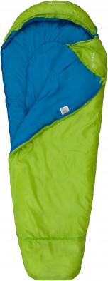 Спальный мешок Outventure Teen +15 правосторонний салатовый цвет — купить за 1899 руб в интернет-магазине Спортмастер - Товары для туризма и активного отдыха