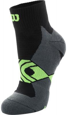 Носки Wilson Running Low Cut, 1 параСпортивные носки для бега. Мохровая пятка и мысок придают дополнительную мягкость. Поддержка свода стопы обеспечивает комфорт во время бега и ходьбы. В комплекте 1 пара.<br>Пол: Мужской; Возраст: Взрослые; Вид спорта: Бег; Материалы: 54% полиэстер, 43% нейлон, 3% эластан; Производитель: Wilson; Артикул производителя: W408-B; Страна производства: Китай; Размер RU: 35-38;
