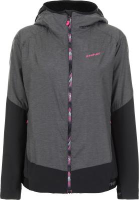 женская куртка ziener, черная