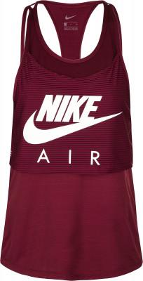 Майка женская Nike Air, размер 46-48Майки<br>Удобная двуслойная майка nike air станет отличным выбором для пробежек.