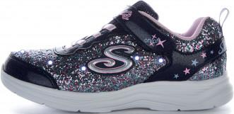 Кроссовки для девочек Skechers S Lights: Glimmer Kicks - Glitter N' Glow