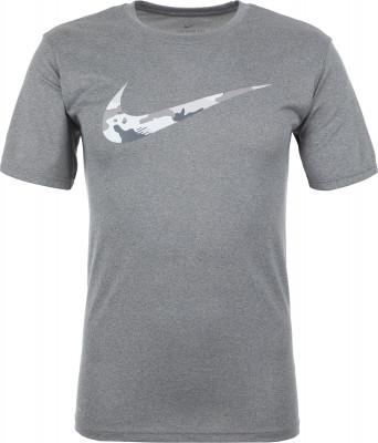 Футболка мужская Nike Dry Legend, размер 50-52Футболки<br>Футболка классического покроя nike dry legend, выполненная из влагоотводящей ткани, станет отличным вариантом для тренировок.