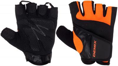Перчатки для фитнеса DemixДля комфорта и безопасности во время интенсивных тренировок. Предотвращают появление мозолей. Позволяют надежнее фиксировать снаряд в руках.<br>Возраст: Взрослые; Пол: Мужской; Размер: S; Технологии: DryGrip, ErgoMove; Производитель: Demix; Артикул производителя: D-310S-O; Срок гарантии: 3 месяца; Страна производства: Пакистан; Размер RU: S;