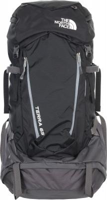 The North Face Terra 65Удобный универсальный рюкзак tnf terra 65 для многодневных походов и путешествий. Вентиляция вентилируемая спина разной плотности для комфорта во время использования.<br>Объем: 65 л; Размеры (дл х шир х выс), см: 80 х 35,5 х 23,5; Вес, кг: 2,1; Материал верха: 100 % полиэстер; Материал подкладки: 100 % полиэстер; Боковые стяжки: Да; Вентилируемые лямки: Да; Вентиляция спины: Да; Верхний клапан: Да; Регулировка клапана: Да; Боковые карманы: Да; Нагрудный ремень: Да; Поясной ремень: Да; Чехол от дождя: Да; Крепление для шлема: Да; Крепление для ледового инструмента: Да; Крепление для палок: Да; Отделение для ноутбука: Да; Фронтальный карман: Да; Доступ в боковое отделение: Да; Доступ в нижнее отделение: Да; Вид спорта: Кемпинг, Походы; Размер RU: M/L;