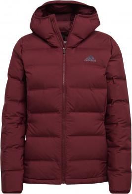 Куртка пуховая женская Adidas Helionic Hooded