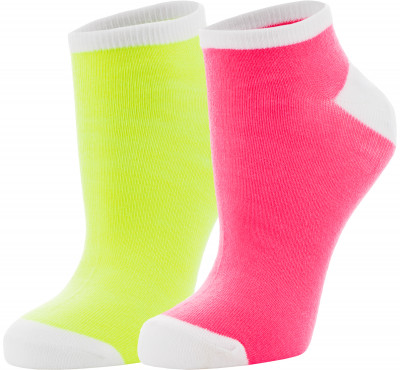 Носки женские Wilson No show neon, 2 пары