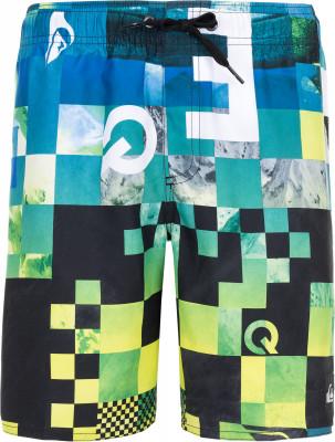 Шорты плавательные для мальчиков Quiksilver DekseyПлавательные шорты от quiksilver созданы специально для веселого пляжного отдыха. Свобода движений благодаря продуманному свободному крою, шорты не стесняют движения.<br>Пол: Мужской; Возраст: Дети; Вид спорта: Пляж; Защита от УФ: Да; Устойчивость к хлору: Да; Гипоаллергенная ткань: Нет; Длина по боковому шву: 24 см; Материал верха: 100 % полиэстер; Производитель: Quiksilver; Артикул производителя: EQBJV03185; Страна производства: Индонезия; Размер RU: 146-152;
