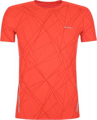 Футболка мужская Demix, размер 50Мужская одежда<br>Беговая футболка из влагоотводящей ткани от demix. Отведение влаги технология movi-tex обеспечивает влагоотвод и комфортный микроклимат.