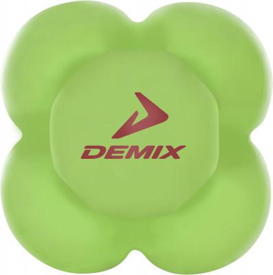 Мяч для развития реакции DemixСпециальный мяч от demix служит для эффективной тренировки реакции.<br>Диаметр: 6 см; Состав: Термопластичный эластомер; Вид спорта: Кардиотренировки, Фитнес; Производитель: Demix; Артикул производителя: D-540; Страна производства: Китай; Размер RU: Без размера;
