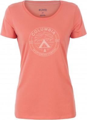 Футболка женская Columbia Camp a Little