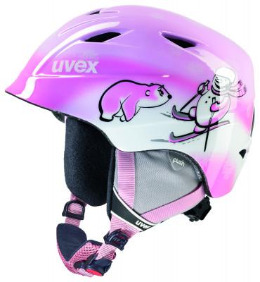 Шлем детский Uvex Airwing 2Детский шлем uvex airwing 2 обеспечит максимальный комфорт на склоне. В модели предусмотрены система вентиляции, съемная защита ушей и фиксатор стрэпа маски.<br>Пол: Мужской; Возраст: Дети; Вид спорта: Горные лыжи; Конструкция: In-mould; Вентиляция: Принудительная; Сертификация: EN 1077 B; Регулировка размера: Есть; Тип регулировки размера: Поворотное кольцо; Материал внешней раковины: Поликарбонат; Материал внутренней раковины: Пенополистирол; Материал подкладки: Полиэстер; Технологии: IAS; Производитель: Uvex; Артикул производителя: 6132.1303; Срок гарантии: 2 года; Страна производства: Китай; Размер RU: 52-54;
