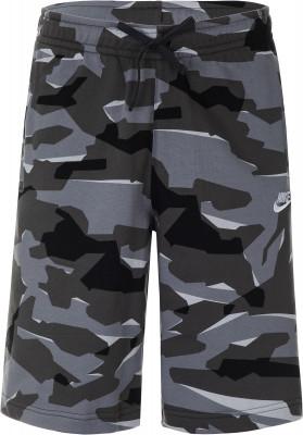Шорты мужские Nike, размер 44-46Шорты<br>Шорты в спортивном стиле от nike. Свобода движений крой позволяет двигаться естественно. Устойчивость к износу эластичный пояс со шнурком позволяет отрегулировать посадку.
